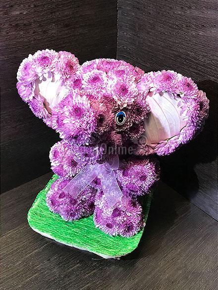 доставка цветов по Москве - Слоненок