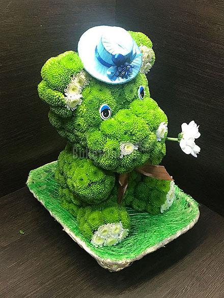 цветы с доставкой - Бегемотик