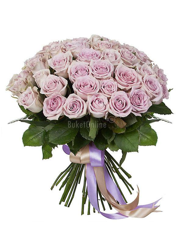 Леди Босс -  букет из роз