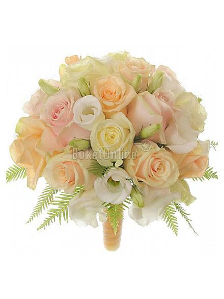 Букет Невесомость - букет невесты / доставка цветов бесплатно по Москве (в пределах МКАД).