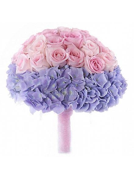 Букет Фиолетовый рай / доставка цветов бесплатно по Москве (в пределах МКАД).