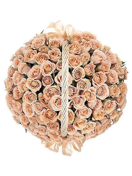 Букет Моей любви не громкие слова / доставка цветов бесплатно по Москве (в пределах МКАД).