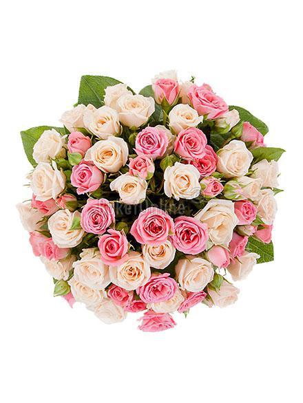 цветы с доставкой - Нежная радость