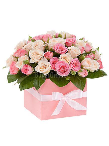 доставка цветов по Москве - Нежная радость