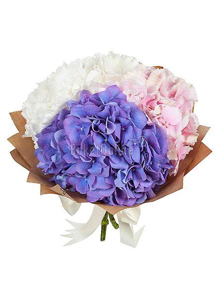 Букет Нежное признание / доставка цветов бесплатно по Москве (в пределах МКАД).