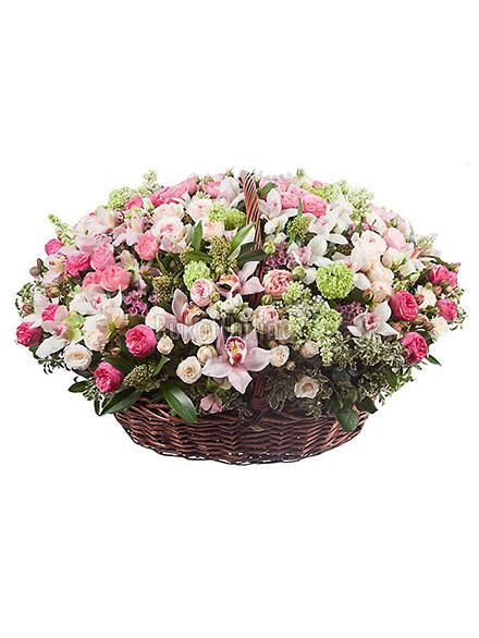 доставка цветов по Москве - Королевский шарм