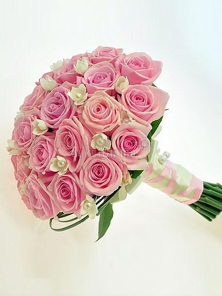Букет Букет невесты - Беби Лав / доставка цветов бесплатно по Москве (в пределах МКАД).