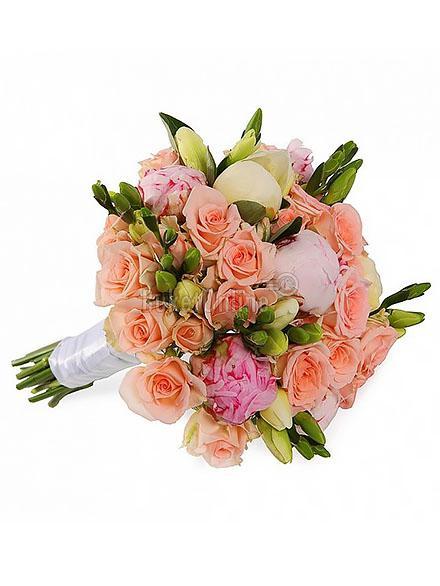 Букет Букет для невесты - Франческа / доставка цветов бесплатно по Москве (в пределах МКАД).