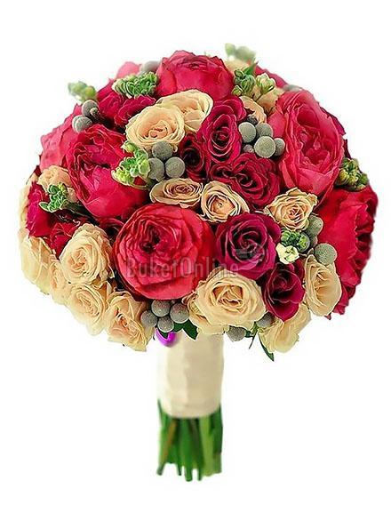 Букет Кубинская бачата / доставка цветов бесплатно по Москве (в пределах МКАД).