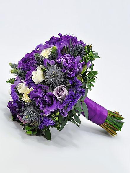 Букет Аметистовое чудо / доставка цветов бесплатно по Москве (в пределах МКАД).