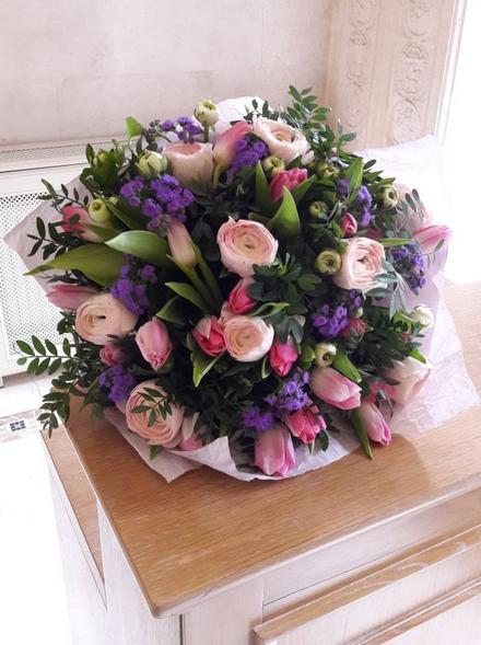 Тюльпаны на Сокольники