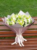 ''Дары природы'' - букет с орхидеями