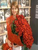 Букет Неугасающая страсть 101 роза