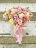 Грация - цветы в коробке
