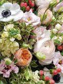 Корзина цветов ''Трепетные чувства''