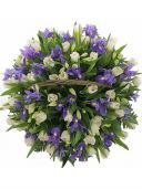 Лесная нимфа - тюльпаны и ирисы