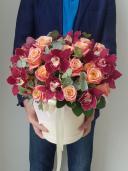 Букет из роз - Загадочная нежность