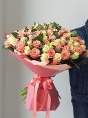 Шикарный букет роз премиум