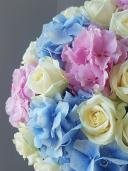 Ларец принцессы - композиция из роз