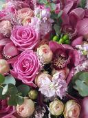 Премиум букет с орхидеей и розой