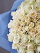 101 роза ''С рождением сына''