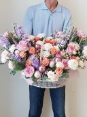 Корзина цветов ''Созвездие любви''