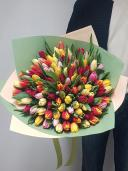 101 тюльпан - букет