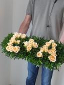 Композиция с розами (любые буквы)