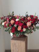 Кармен - корзина с экзотическими цветами
