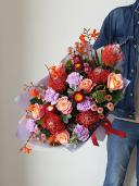 Букет экзотических цветов