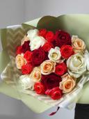 Микс букет из 25 роз